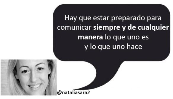 como crear un mensaje de comunicación eficaz siguiendo pautas del periodismo Natalia Sara