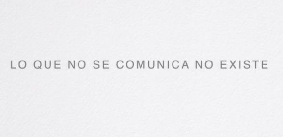 Natalia Sara Mendinueta experta en comunicación y gestión de crisis, Lo que no se comunica no existe