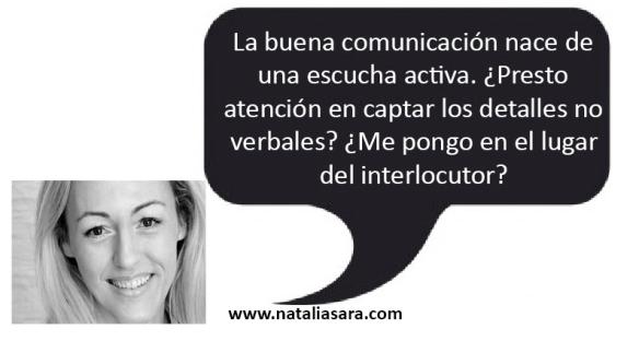 habilidades de comunicación escucha activa natalia sara