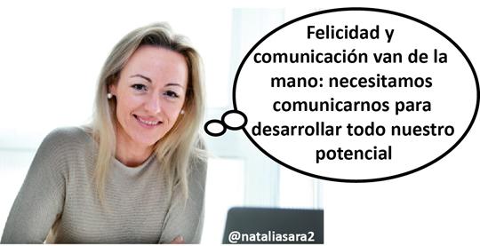 Natalia Sara expone las ventajas para la consecución del bienestar emocional de cuidar cómo comunicamos y aplicar una actitud positiva.