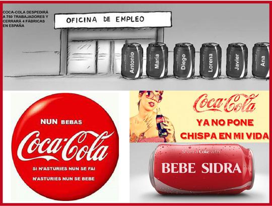 La crisis de reputación de Coca-Cola en España. El ERE en Coca-Cola desata la infelicidad