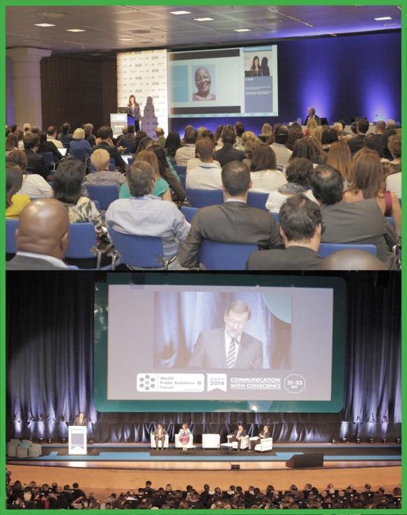 Resumen de las 10 ideas sobre  gestión de la comunicación abordadas durante el Foro Mundial de la Comunicación #WPRF2014 celebrado en Madrid.