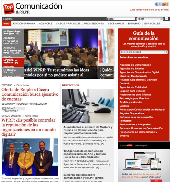 TOP COMUNICACIÓN &RR.PP. For Mundial de la Comunicación