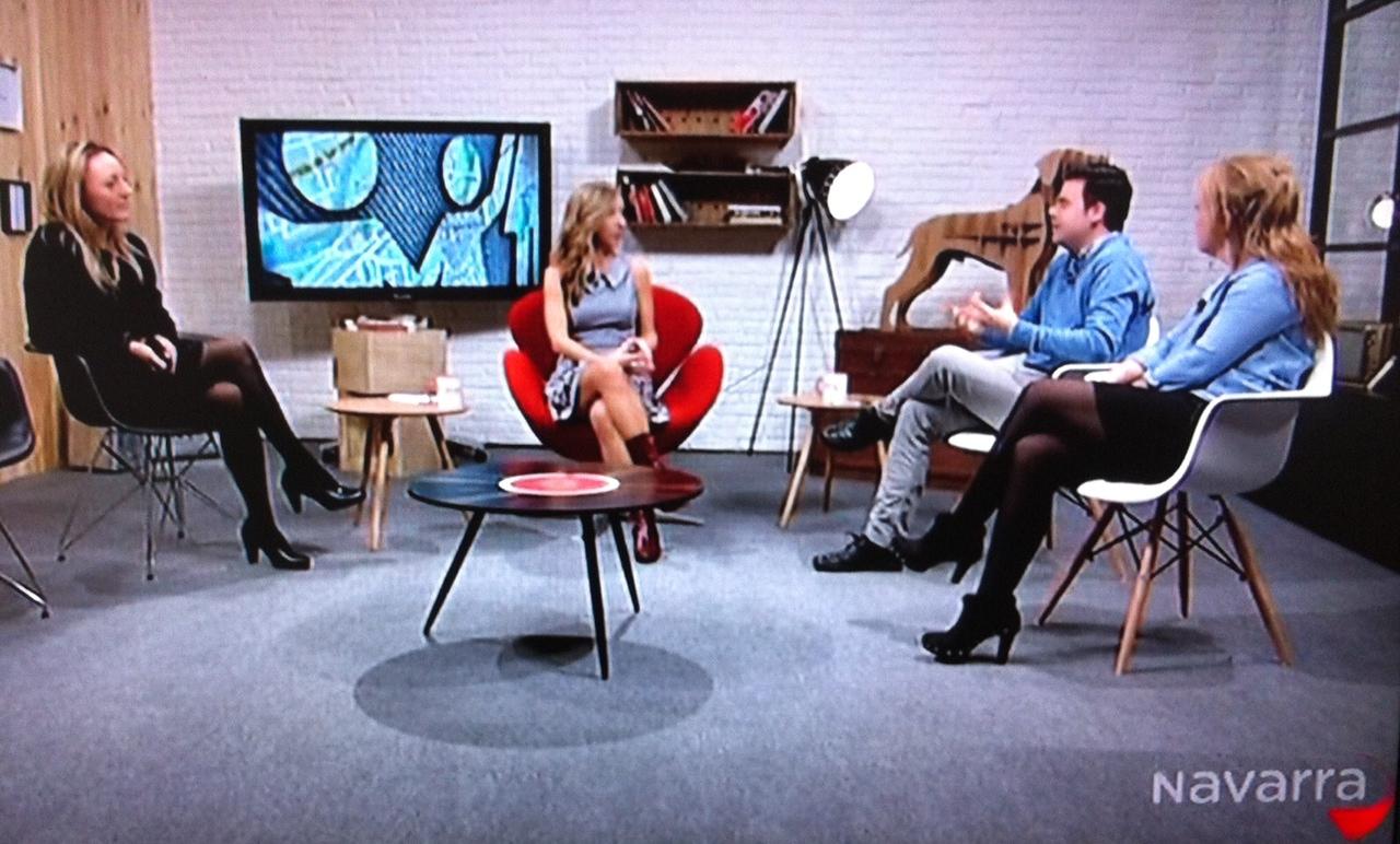 Natalia Sara televisión redes sociales comunicación programa Me importas tú de Navarra Televisión