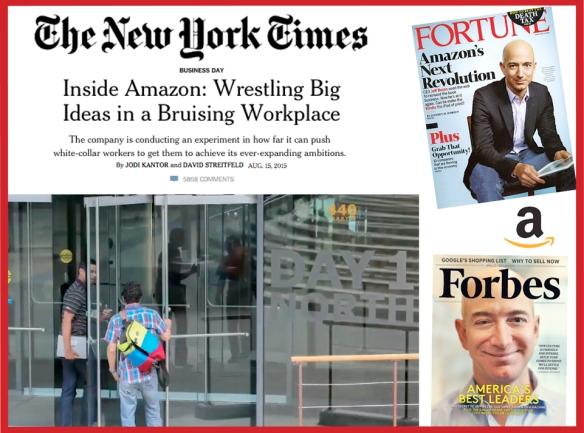 """El diario """"The New York Times"""" ha hecho público un artículo en donde cuestiona la cultura de trabajo que se lleva a cabo en la empresa Amazon, criticando duramente la exigencia, presión y competencia que lleva a la denigración, los abusos y la falta de empatía hacia los trabajadores de oficina. La manera en que su fundador y CEO Jeff Bezos ha reaccionado y se ha comunicado a sus empleados nos sirve para analizar la importancia de la comunicación en una situación de crisis y saber ejercer el liderazgo. El texto del email es un reflejo de su manera de concebir qué es liderar y cómo influir en los demás con buena comunicación."""