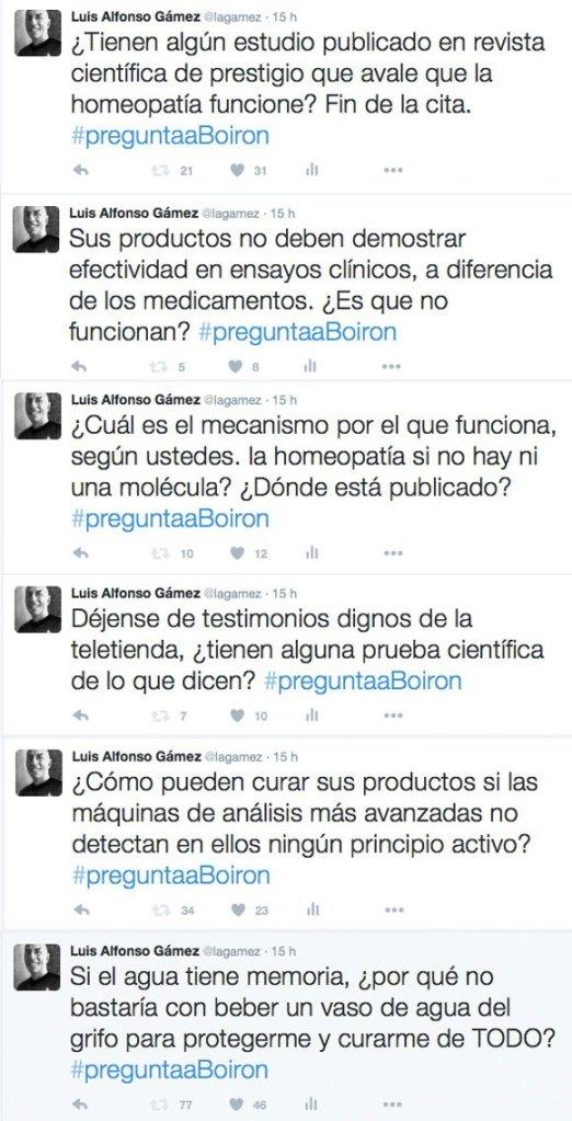 Errores en comunicación de crisis de Borion, líder en homeopatía, en sus redes sociales #PreguntaaBoiron